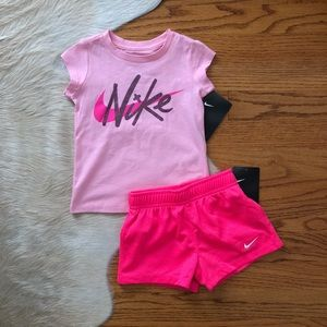 2T Pink Nike Outfit